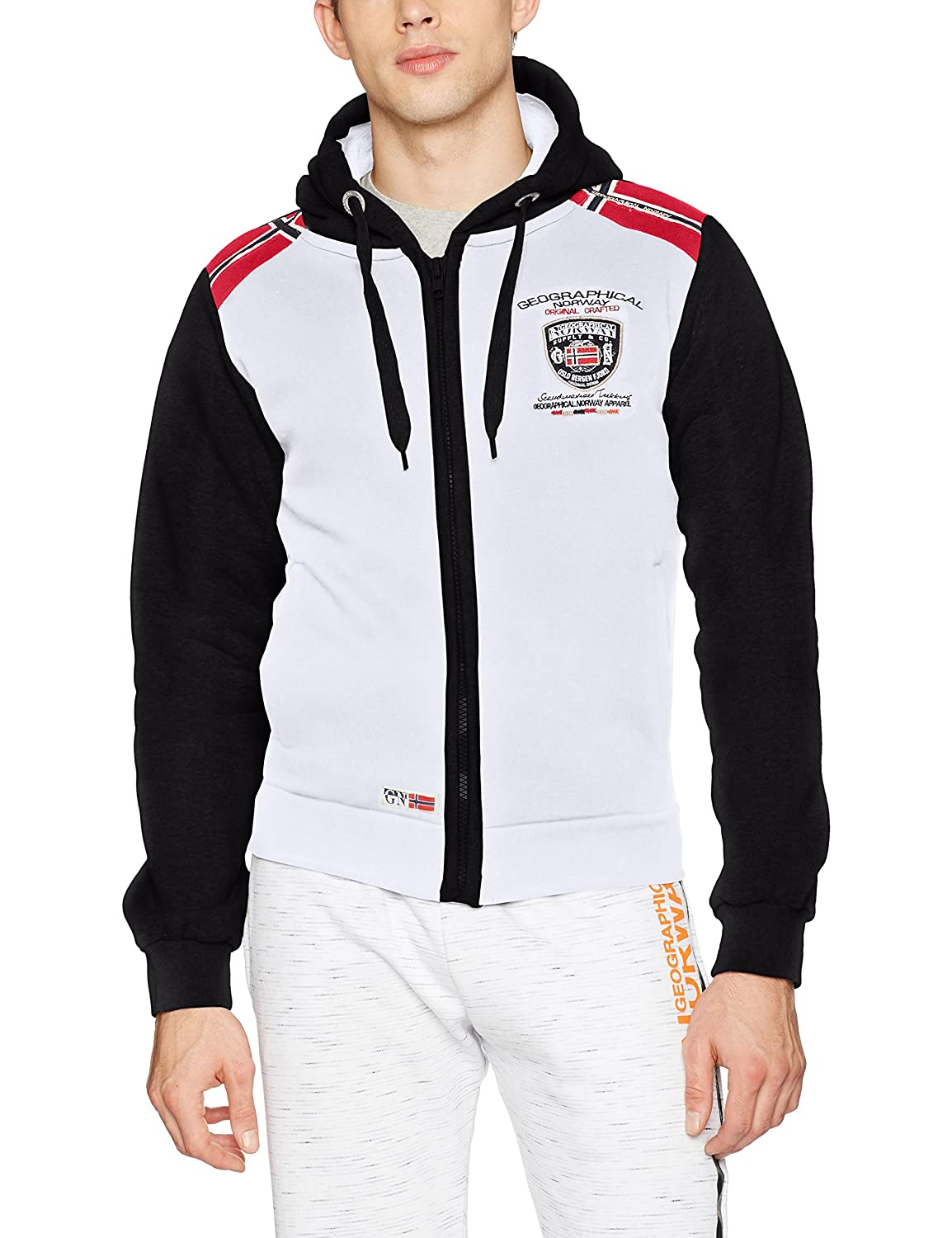 TALLA XL. Geographical Norway Finion Men Jersey Deportivo para Hombre