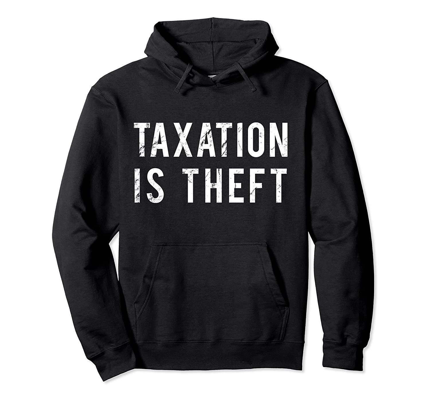 Taxation is Theft Pullover Hoodie-Bawle