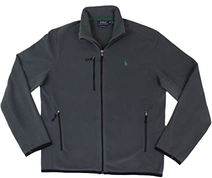 Polo Ralph Lauren Men's Performance Full Zip Fleece Jacket at ...