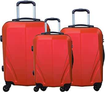 Resenarer 1709 Unisex Luggage Trolley Bag, Black