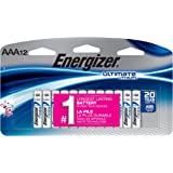 Energizer Ultimate Lithium AAA Batteries, 12 Count