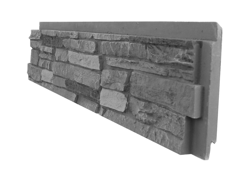 NextStone Sandstone Ledger Onyx 4 per box 16 lin. ft per box