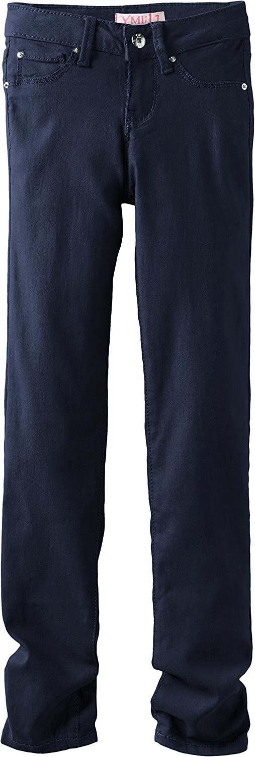 YMI Big Girls Superstretch Colored Skinny Pant