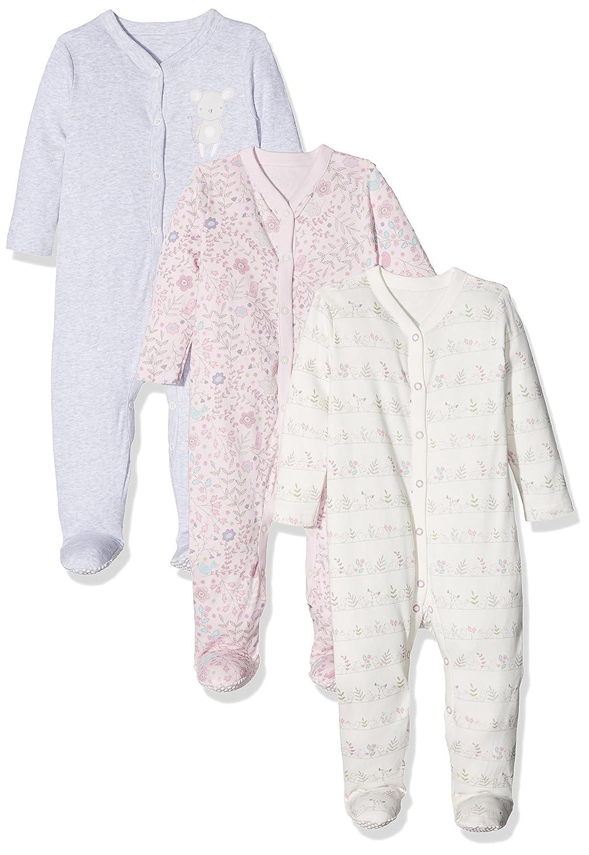 Mothercare Baby-Mädchen Schlafstrampler Squeak PD303