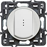 Legrand 099503 Céliane Interrupteur simple témoin, 250 V, Blanc