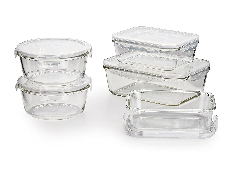 Amazon Lock Lock Llg455s5a Ovenglass Glass Food Storage