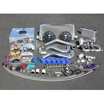 Nissan S13 CA18DET Motor de alto rendimiento 22 piezas T25 Turbo Upgrade Kit de instalación