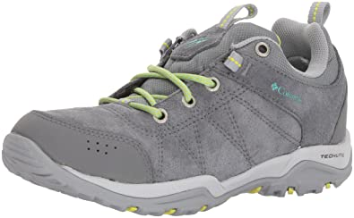 Columbia Fire Venture Waterproof, Chaussures Multisport Outdoor Femme, Noir (Black, Burnt Henna 010), 37.5 EU