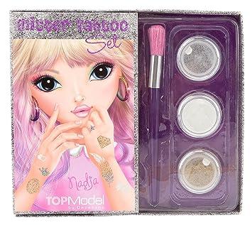 a57d1829ec5a Top Model 6602 Glitter Tattoo Set: Amazon.co.uk: Toys & Games