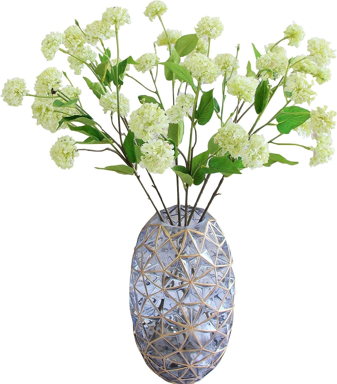 Artificial hydrangea plant
