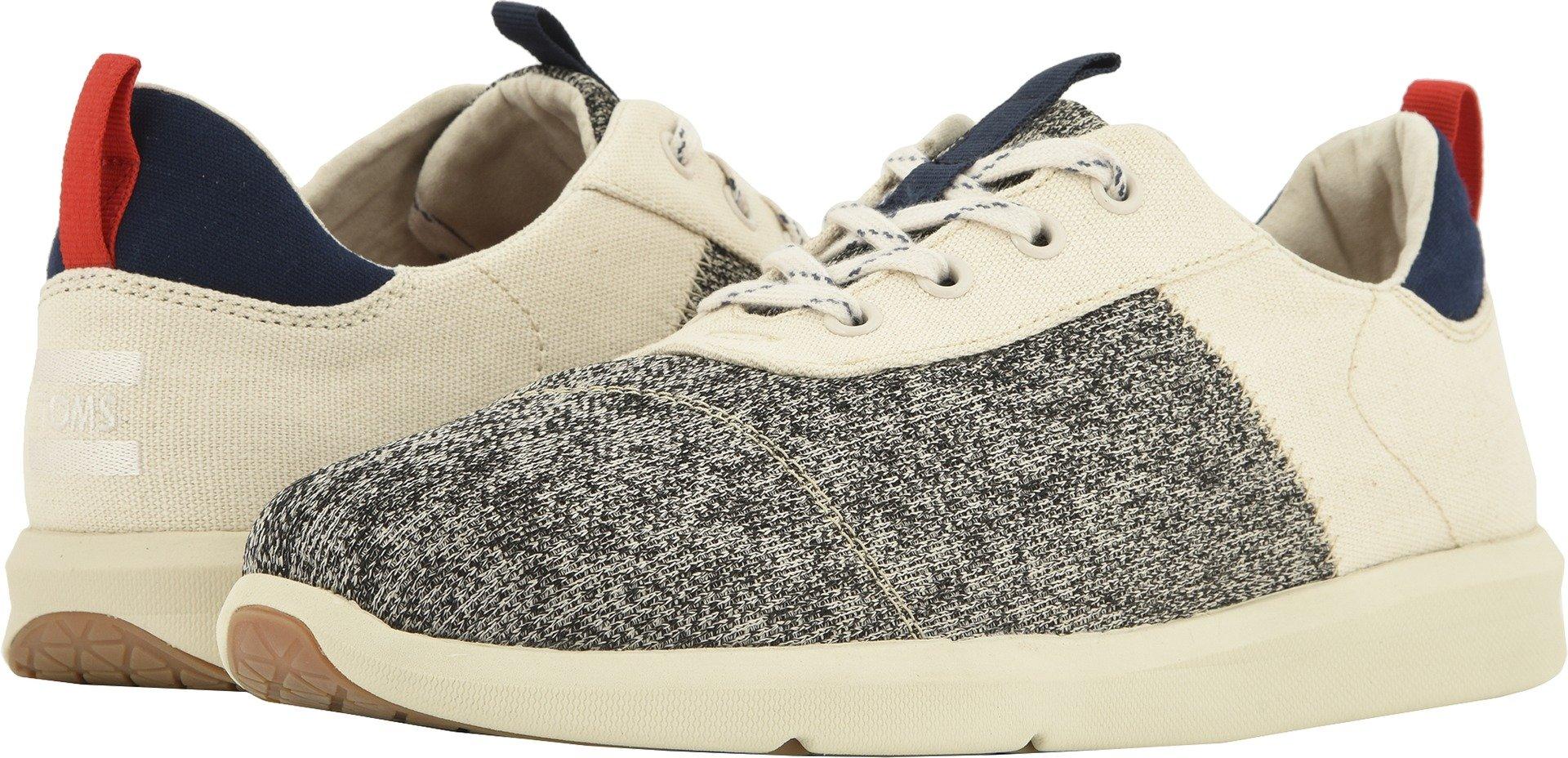 TOMS Men's Cabrillo Cotton/Poly Sneaker, Size: 11.5 D(M) US, Color: Birch Technical Knit