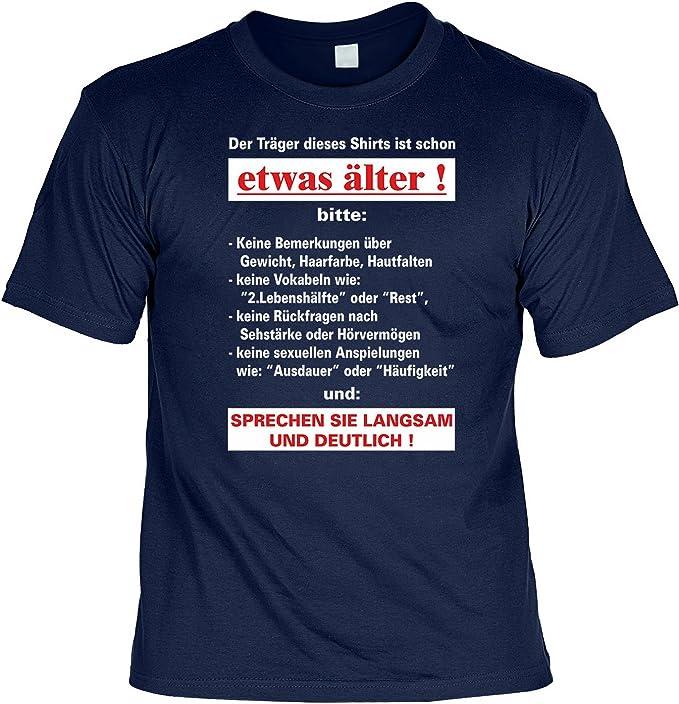 Lustige Spruche Fun Tshirt Der Trager Dieses T Shirts Ist Schon Etwas Alter Geburtstag Tshirt Mit Urkunde Amazon De Bekleidung