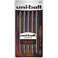 uni-ball 207 BLX Infusion Retractable Gel Pens Medium Point (0.7mm) Assorted Colors 5 Count