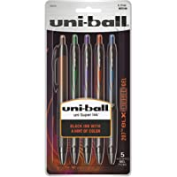 uni-ball 207 BLX Infusion Retractable Gel Pens, Medium Point (0.7mm), Assorted Colors, 5 Count
