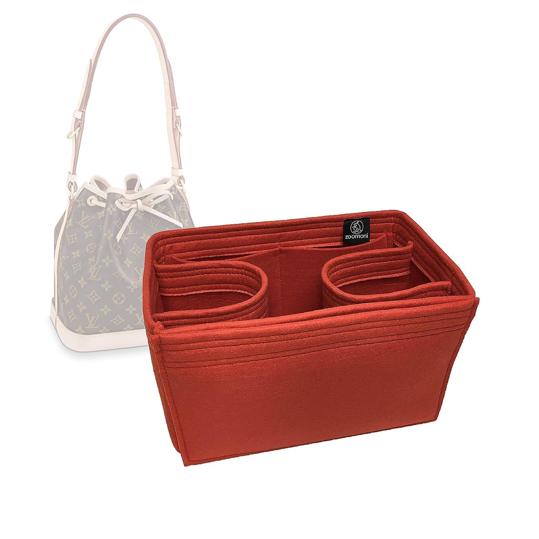 4b3074ddde Amazon.com: Zoomoni LV Petit Noe Purse Organizer Insert - Premium Felt ( Handmade/14 Colors): Handmade
