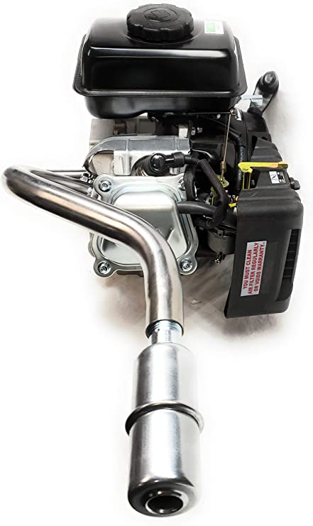 Mini Bike. Exhaust with Muffler for Predator 3HP 79cc from Harbor Freight Tool