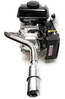 """Predator 79cc 3HP 3//4/"""" SS Male /& Female Thread Pipe with Exhaust Flange."""