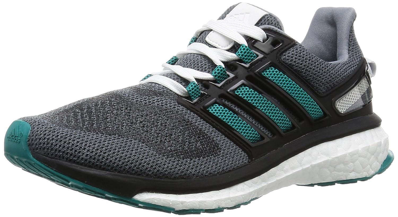 Adidas Energy Boost 3 W, Zapatillas de Deporte para Mujer 37 1/3 EU|Gris / Verde / Negro (Gris / Eqtver / Negbas)