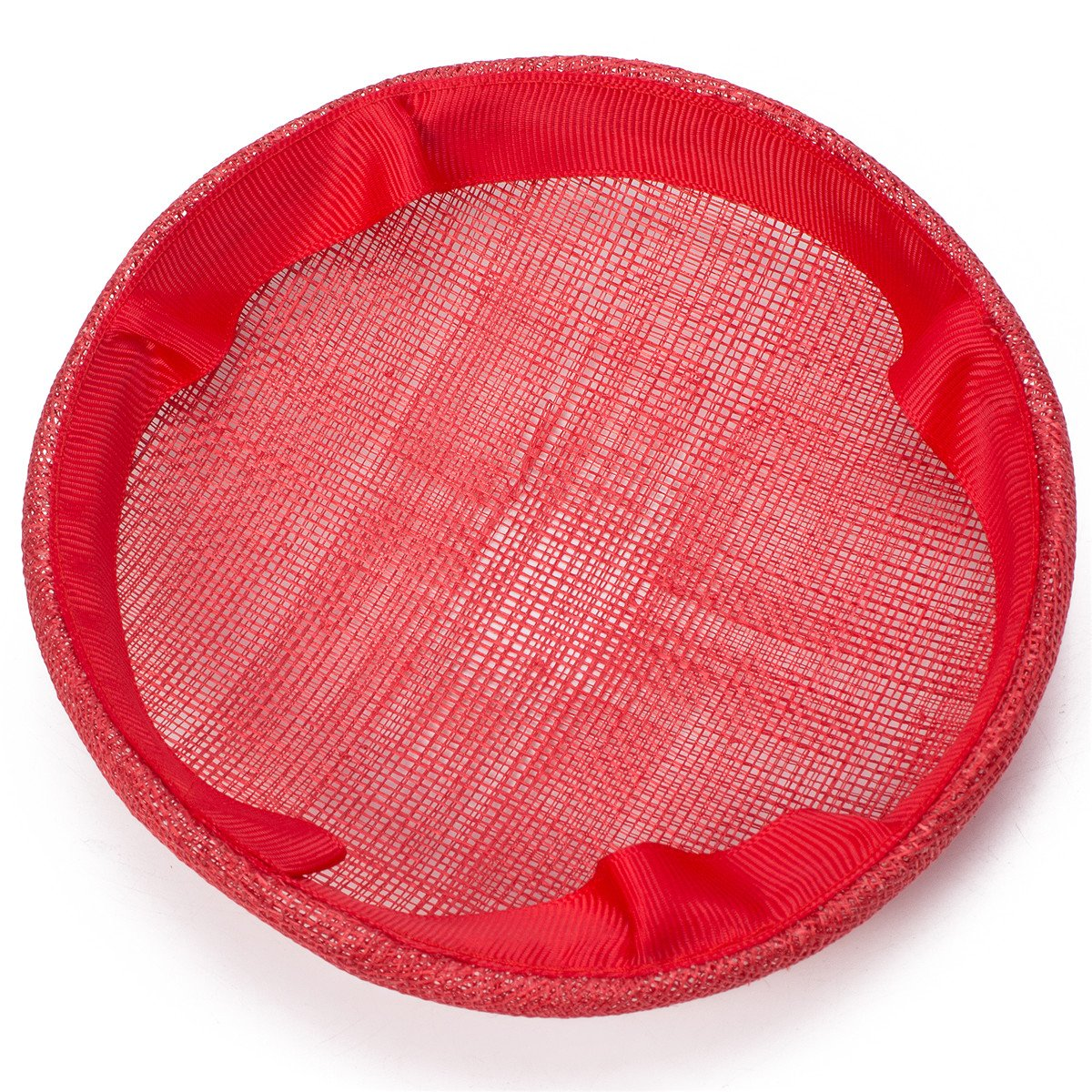Lawliet 6.1 Round Sinamay Button Pillbox millinery Fascinator Hat Base Craft B065