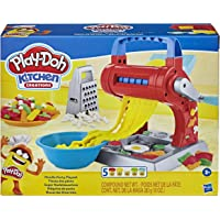 Play-Doh E7776 Kitchen Creations Noodle Party Playset for Kids 3 Years and Up with 5 Non-Toxic Colors