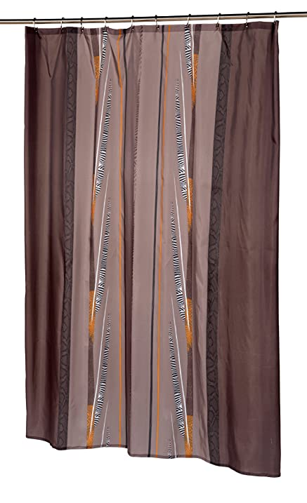 Amazon.com: Carnation Home Fashions Catherine Extra Long Printed ...