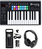 Novation LAUNCHKEY-25-MK2 USB MIDI Keyboard Controller + Mic + Speaker