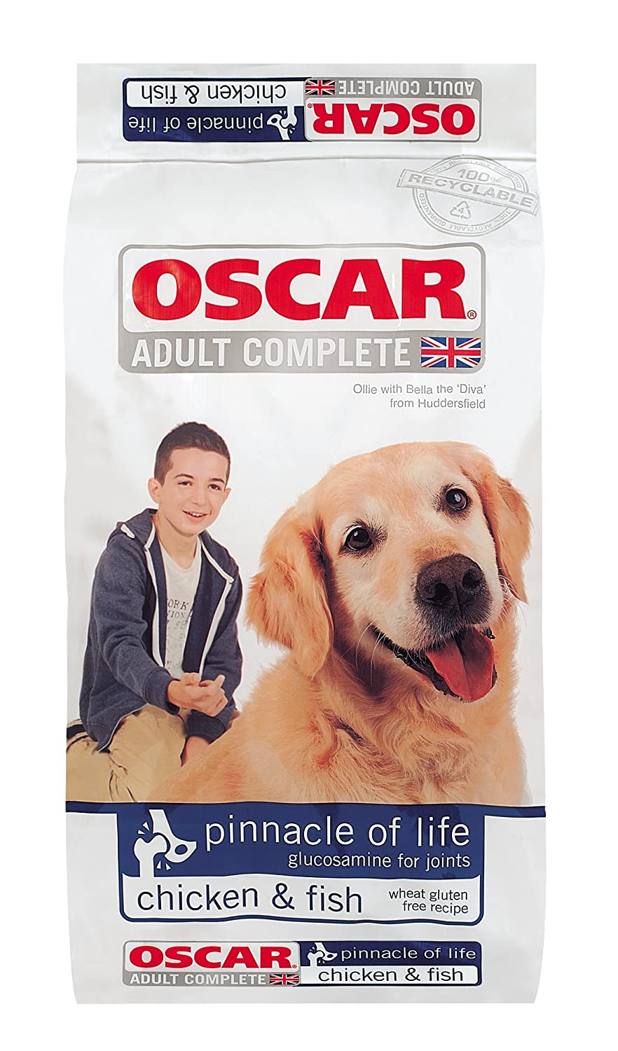 Oscar Adult Pinnacle of Life 15kg Complete Dry Dog Food