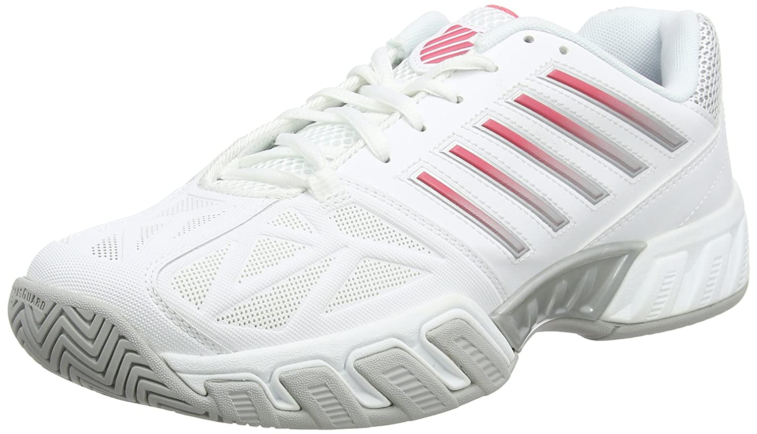 K-Swiss Tennis Bigshot Light 3 Womens Tennis K-Swiss Shoe B06XZ37HL4 11 B(M) US|White/Calypso Coral ab92c4