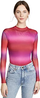 product image for Only Hearts Women's Ombre Mock Neck Thong Bodysuit