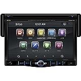 BOSS Audio BV8970B Single Din, Touchscreen, Bluetooth, DVD/CD/MP3/USB/SD AM/FM Car Stereo, 7 Inch Digital LCD Monitor, Detachable Front Panel, Wireless Remote, Multi-Color Illumination