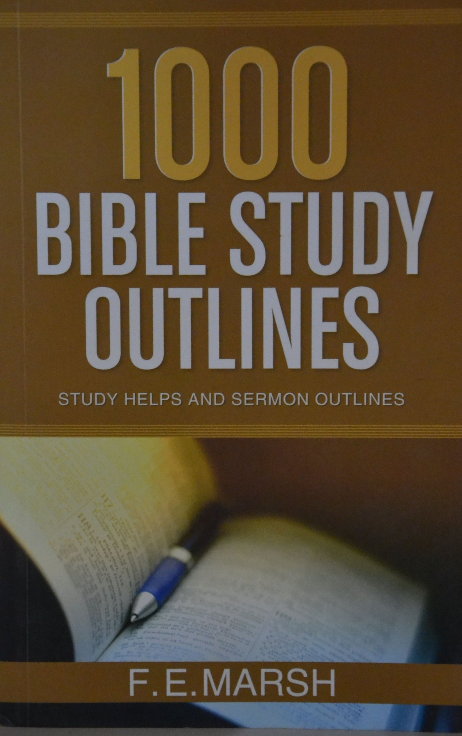 Buy 1000 Bible Study Outlines Book Online at Low Prices in India | 1000  Bible Study Outlines Reviews & Ratings - Amazon.in