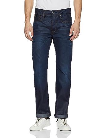 4a576e3c0e2d G-Star Men s 3301 Hydrite Denim Straight Leg Jean at Amazon Men s ...
