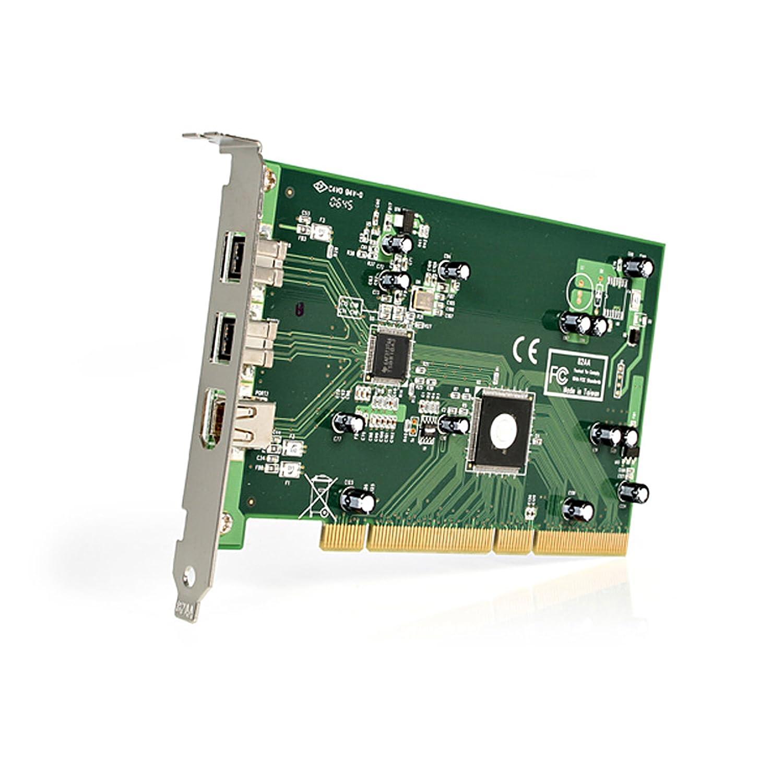 Amazon.com: StarTech.com 3-Port 2b 1a PCI 1394b FireWire Adapter ...