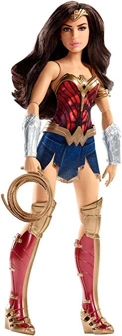 DC Wonder Woman Battle-Ready Doll, 12""