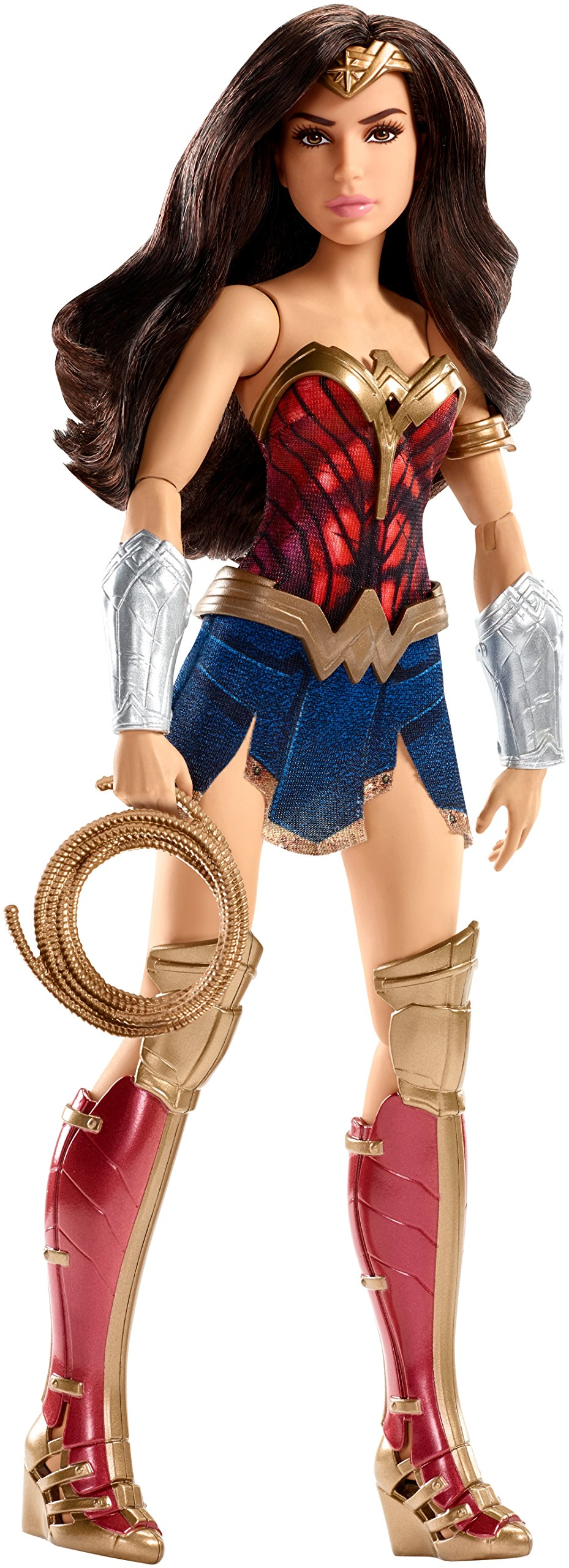 Mattel DC Wonder Woman Battle-Ready Doll, 12''