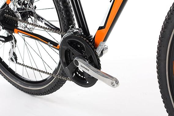 Barracuda Hombre Draco 4 para Bicicleta, Color Negro/Naranja ...