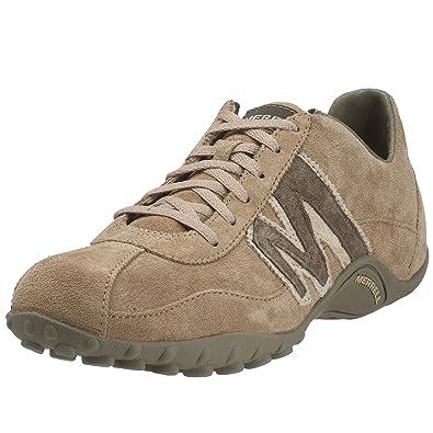 Merrell Sprint Blast Mens LaceUp Trainer Shoes  Beige Hound Dawg