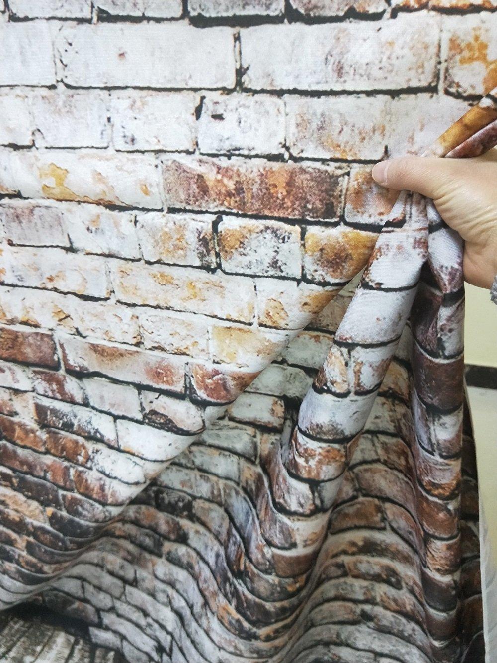 Konpon 150X220cm vinilo tel/ón de fondo la fotograf/ía fondo de papel de ladrillos Tel/ón de fondo pared de ladrillo Photography Studio Props fondo kp-455