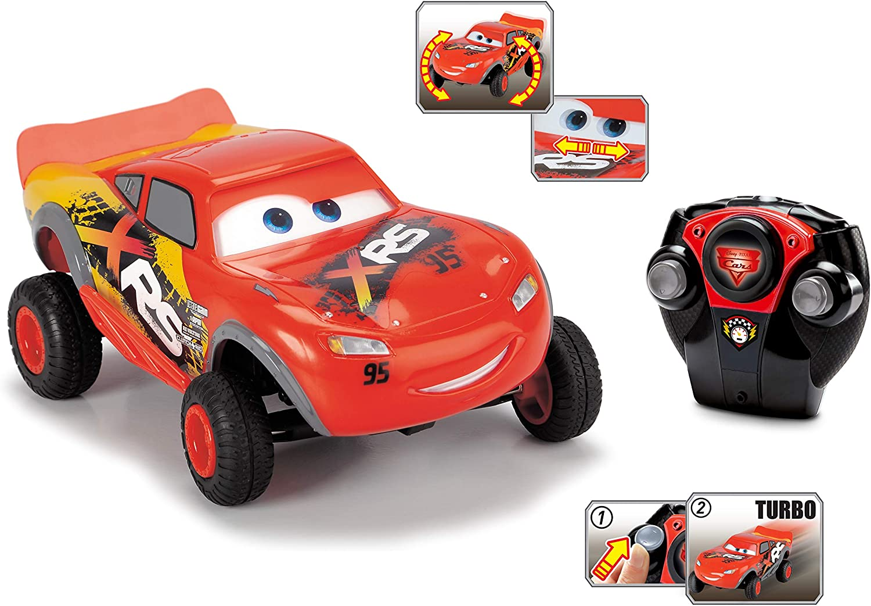 Dickie- Cars XRS Coche radiocontrol 1:24, Color Rojo (3084022)