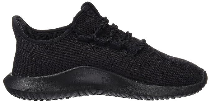 Amazon.com | adidas Originals Tubular Shadow J Black Textile 4.5 M US Big Kid | Fashion Sneakers