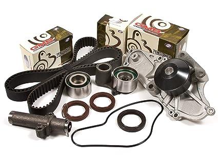 Evergreen TBK286HWPT 00 04 Acura Honda Pilot Odyssey J32A J35A Timing Belt  Kit Water Pump