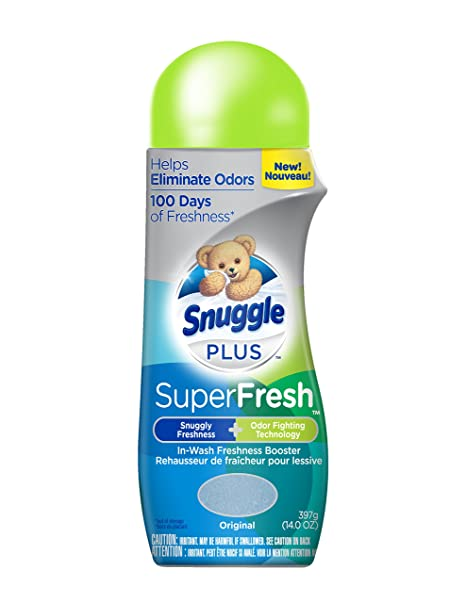 Amazon.com: Snuggle Plus Superfresh in-wash Freshness Booster, Original, 22 Ounce: Health & Personal Care