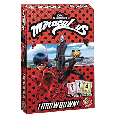 Action Lab Miraculous Throwdown Card Game: Toys & Games