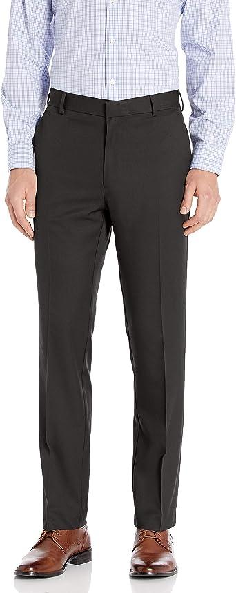 Aroflex Flat Front Straight Fit Pant