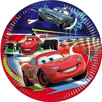 Disney Paper Plate Cars 2 Diameter 20 cm  sc 1 st  Amazon UK & Disney Paper Plate Cars 2 Diameter 20 cm: Amazon.co.uk: Toys u0026 Games