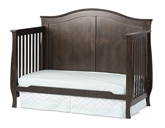 Slate Child Craft Camden 4-in-1 Lifetime Convertible Crib