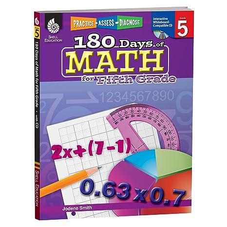 Amazoncom 180 Days Of Math For Fifth Grade 5th Grade Problem