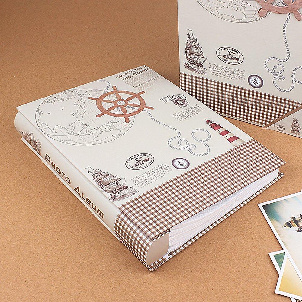 Jia Hu - unidad, Álbumes de fotos retro, 1 unidad, - ideal para viajes, álbumes de recortes y recuerdos e7e03f