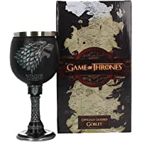 Game of Thrones Winter is Coming Stark Goblet Wine Glass Official Merchandise