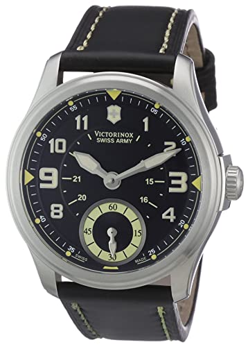Victorinox 241377 - Reloj para hombres, correa de cuero color negro: Amazon.es: Relojes
